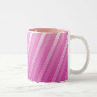 Slanted stripes mug