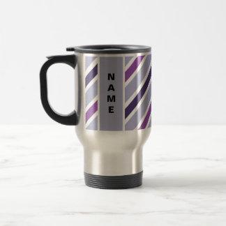 Slanted Stripes mug - choose style & customize
