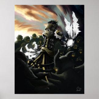 Slanth the Lone Hunter Poster