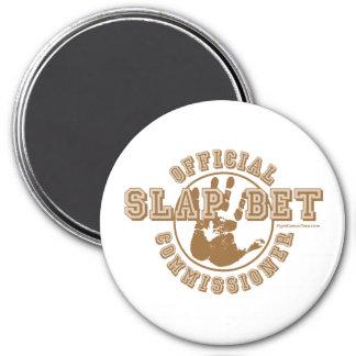 Slap Bet Commissioner Magnets