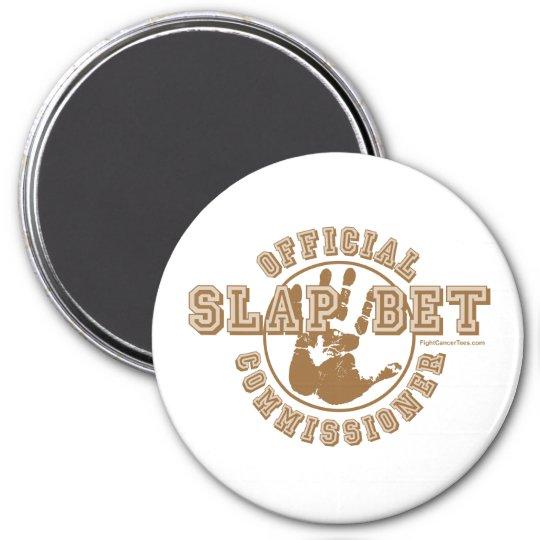 Slap Bet Commissioner Magnet