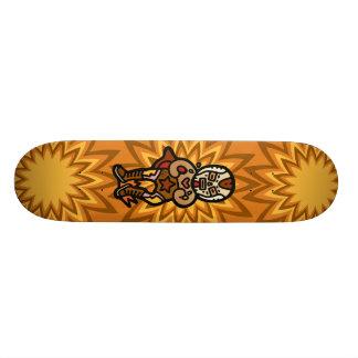 slap down slam down. skateboard deck