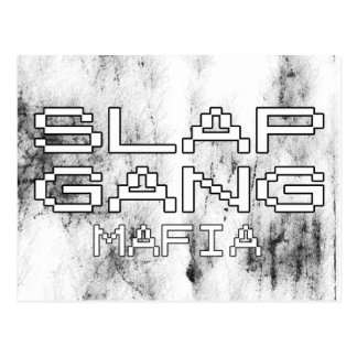 Slap Gang Mafia Postcard