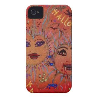 Slap Happy Smiley Tiley-Halloween iPhone 4 Case-Mate Case