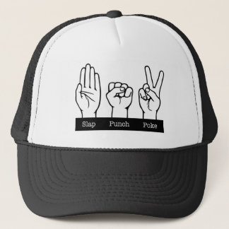 Slap, Punch, Poke Trucker Hat