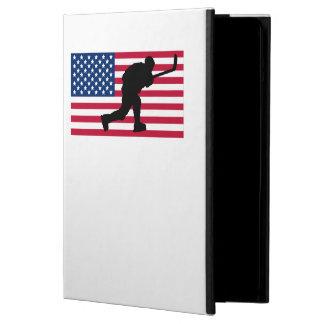 Slap Shot American Flag Cover For iPad Air
