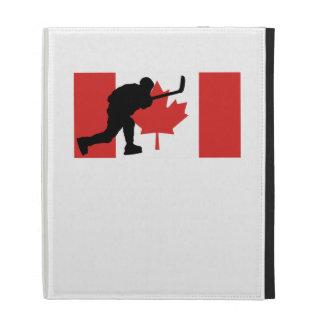 Slap Shot Canadian Flag iPad Folio Covers