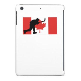 Slap Shot Canadian Flag iPad Mini Cases