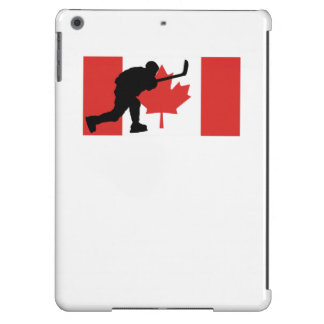 Slap Shot Canadian Flag Cover For iPad Air