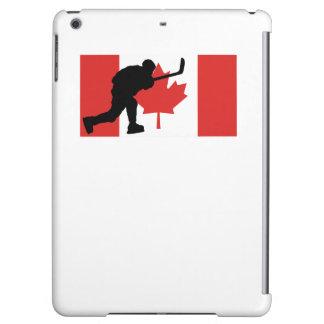 Slap Shot Canadian Flag iPad Air Covers
