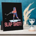 Slap Shot Plaque