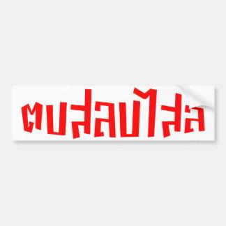 Slap You Silly ☆ Dop Salop Salai in Thai Script ☆ Bumper Sticker
