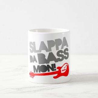 Slappa Da Bass Mon! Classic White Coffee Mug