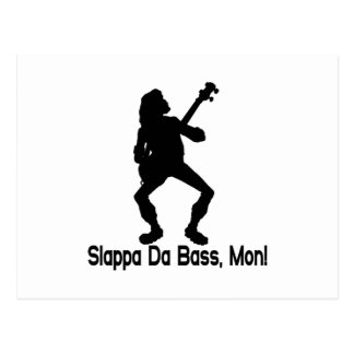 Slappa Da Bass Postcard