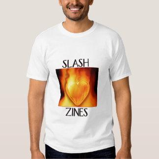 Slash Zine Burning Heart Shirt