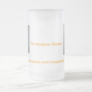 Slasher heló la taza