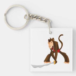 Slasher Monkey Keychain