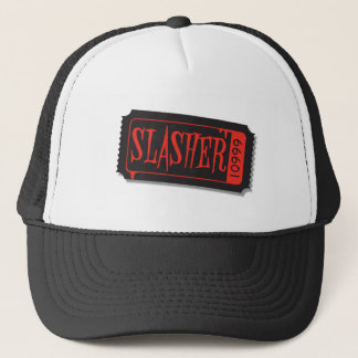 Slasher Movie Ticket Hat