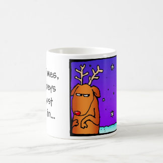 """Slasher"" the other reindeer $12.95 Coffee Mug"