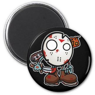 Slashing Halloween Magnet