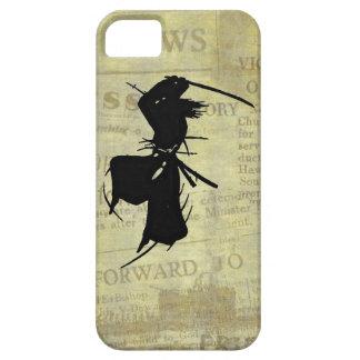 Slashing Samurai Silhouette iPhone 5 Case