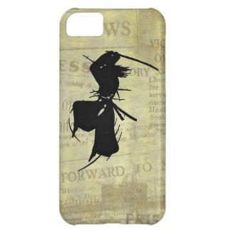 Slashing Samurai Silhouette iPhone 5C Case