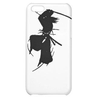 Slashing Samurai Silhouette iPhone 5C Cover