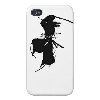 Slashing Samurai Silhouette Cases For iPhone 4