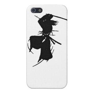 Slashing Samurai Silhouette iPhone SE/5/5s Case