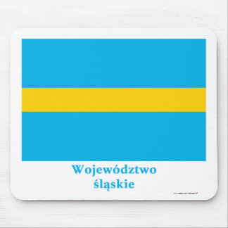 Śląskie - Silesia flag with name Mouse Pads