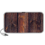 Slat Pattern Wood Planks Travel Speaker