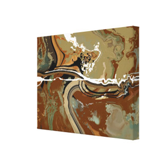 Slate - Abstract Art Canvas Print