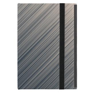 Slate and Cream Stripes Case For iPad Mini