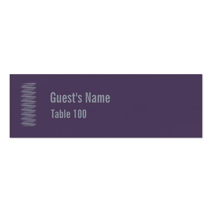Slate and Indigo Place Card 1