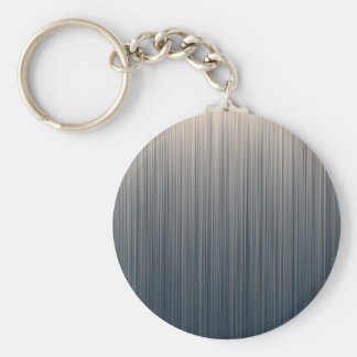 Slate and Off White Stripes Key Chains