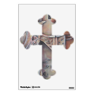 Slate and Steel for Christ Wall Decal