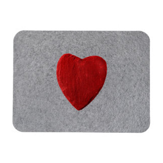 Slate background with heart magnet