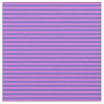 [ Thumbnail: Slate Blue and Orchid Pattern Fabric ]