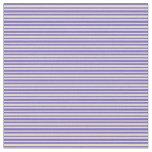 [ Thumbnail: Slate Blue and Tan Pattern Fabric ]