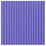 [ Thumbnail: Slate Blue & Dark Blue Lined/Striped Pattern Fabric ]