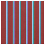 [ Thumbnail: Slate Blue, Dark Cyan, Light Sky Blue & Maroon Fabric ]