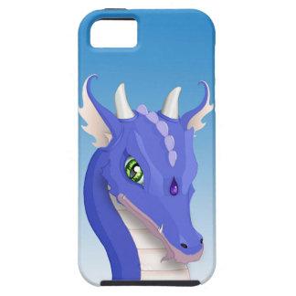 Slate Blue Dragon iPhone SE/5/5s Case