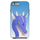 Slate Blue Dragon Tough iPhone 6 Case