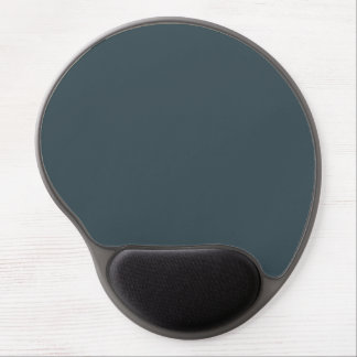 Slate Blue Gray Trend Color Customized Template Gel Mouse Pad