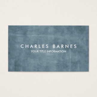 Slate Blue Grunge Business Card