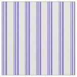 [ Thumbnail: Slate Blue & Mint Cream Colored Lines Fabric ]