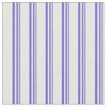 [ Thumbnail: Slate Blue & Mint Cream Colored Pattern Fabric ]