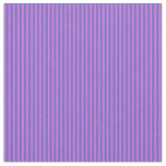 [ Thumbnail: Slate Blue & Orchid Stripes/Lines Pattern Fabric ]