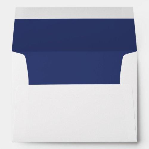 Slate Blue Trim - Envelope