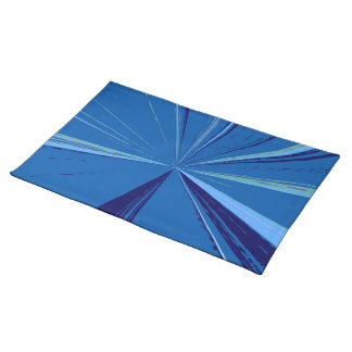 Slate Blue Vanishing Point Placemat